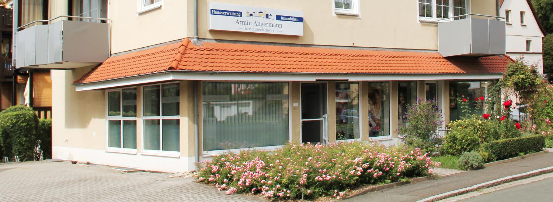 Hausverwaltung und Immobilien Armin Angermann, Blaicher Straße 65 in Kulmbach